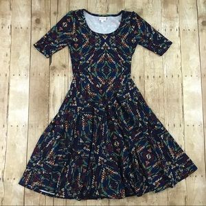 LulaRoe Nicole Dress (S)